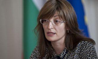Ζαχαρίεβα: Θέλουμε να βελτιώσουμε τις σχέσεις ΕΕ-Τουρκίας στη διάρκεια της βουλγαρικής προεδρίας