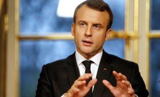 Εμανουέλ Μακρόν: Θα φύγουμε από τη Συρία όταν ολοκληρωθεί ο πόλεμος ενάντια στο Ισλαμικό Κράτος