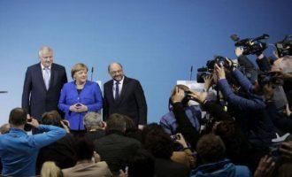 """""""Πλαφόν"""" στους 200.000 πρόσφυγες βάζει ο νέος γερμανικός συνασπισμός"""