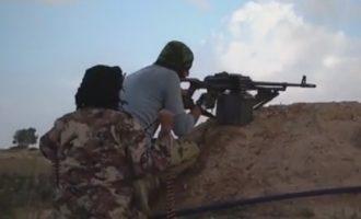 Το Ισλαμικό Κράτος έστησε ενέδρα σε Σύρους στρατιώτες στην έρημο δυτικά του Ευφράτη