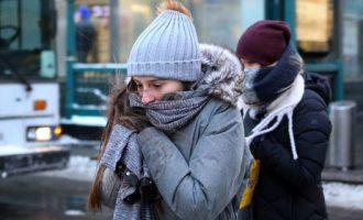 Καταφθάνουν από Βαλκάνια ψυχρές μάζες αέρα – Παγωνιά, άνεμοι και χιόνια