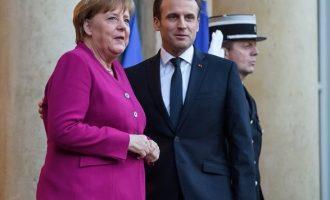 Μπλόκο στις φιλοδοξίες Μακρόν στην Ε.Ε. βάζουν οι σύμμαχοι της Μέρκελ