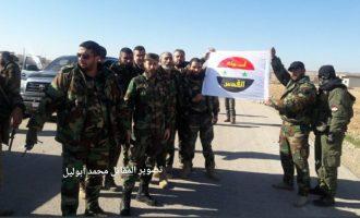 Παλαιστινιακή μονάδα εξοπλισμένη με αμερικανικά όπλα στο πλευρό του συριακού στρατού στην Ιντλίμπ