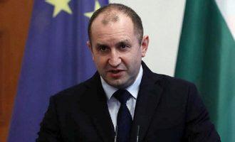 Ο Ρωσόφιλος πρόεδρος της Βουλγαρίας δεν συμφωνεί με το όνομα «Βόρεια Μακεδονία»