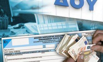 Σε 12 δόσεις μπορεί να πληρωθεί οποιοδήποτε χρέος προς την εφορία