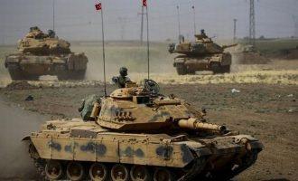 Οι Τούρκοι απειλούν να προελάσουν προς το Χαλέπι εάν οι Σύροι επιτεθούν στην Ιντλίμπ