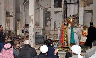 Λειτουργία σε χριστιανική εκκλησία μετά από 6 χρόνια στη Ντέιρ αλ Ζουρ