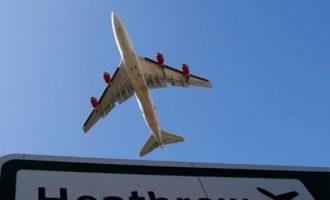 """Συναγερμός στο """"Χίθροου"""" μετά από """"σοβαρό ατύχημα"""" με δύο οχήματα στο αεροδρόμιο"""