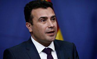 Ζόραν Ζάεφ: «Τα προβλήματα δεν λύνονται με χάραξη νέων συνόρων» – Φοβάται κάτι για τα Σκόπια;