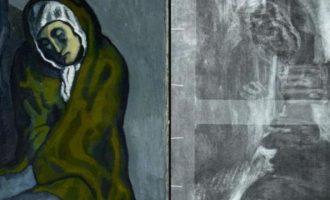 Βρήκαν μυστικό έργο κάτω από πίνακα του Πικάσο (φωτο)