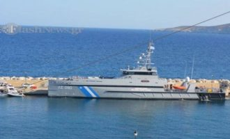 Αυτό είναι το πλοίο «Γαύδος» που εμβόλισε η τουρκική ακταιωρός στα Ίμια (φωτο)