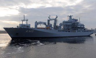 To γερμανικό Πολεμικό Ναυτικό ξεμένει από πλοία