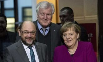 Συμφωνία για μεγάλο συνασπισμό – Στο SPD το υπουργείο Οικονομικών