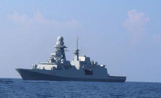 Ιταλική φρεγάτα θα πλεύσει στην κυπριακή ΑΟΖ στο πλευρό του γεωτρύπανου SAIPEM 12000