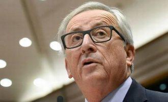 Γιούνκερ: ΗΠΑ, Γαλλία και Βρετανία απάντησαν στη στυγερή επίθεση με χημικά