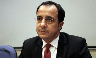 Χριστοδουλίδης: Οι προκλήσεις της Τουρκίας υπονομεύουν την επανέναρξη συνομιλιών στο Κυπριακό