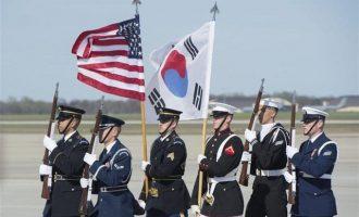 Αναβλήθηκε η κοινή άσκηση ΗΠΑ-Νότιας Κορέας ως χειρονομία καλής πίστης στη Βόρεια Κορέα