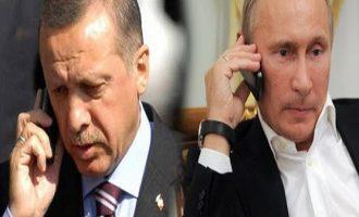 Τι είπαν στο τηλέφωνο Ερντογάν – Πούτιν