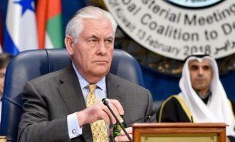 Ρεξ Τίλερσον: Κατανοούμε τις τουρκικές ανησυχίες αλλά… συνεχίζουμε να εξοπλίζουμε τους Κούρδους κανονικά