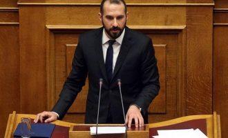 Τζανακόπουλος για τροπολογία για ΕΥΠ: Εξευτελίζετε τη χώρα διεθνώς – Ποιος σας «κρατά»