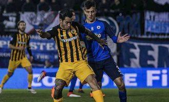 Super League: Ατρόμητος-ΑΕΚ  1-1