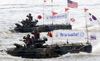 Την 1η Απριλίου ξεκινούν τα στρατιωτικά γυμνάσια ΗΠΑ-Ν. Κορέας