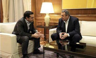 Συνάντηση Τσίπρα-Καμμένου για το θέμα των δύο Ελλήνων αξιωματικών