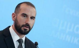 Τζανακόπουλος: Να μας πουν οι Τούρκοι γιατί κρατάνε τους Έλληνες στη φυλακή
