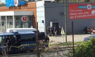 Τζιχαντιστής κρατά ομήρους σε σούπερ μάρκετ στη Γαλλία