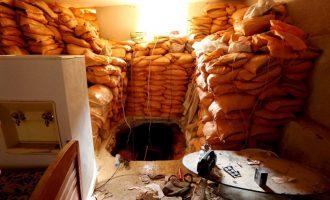 Ηγέτες της οργάνωσης Ισλαμικό Κράτος κρύβονται σε υπόγεια καταφύγια κάτω από τη Μοσούλη