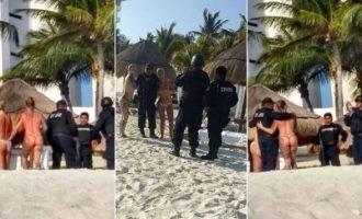 Τους «έκαψαν» οι φωτογραφίες που έβγαλαν με τόπλες τουρίστριες (φωτο)