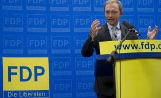 """Γερμανικό FDP: Λέει """"όχι"""" στην εκταμίευση της δόσης για την Ελλάδα"""