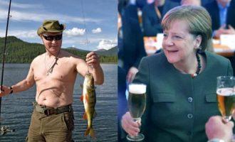 """Γιατί λατρεύει ο Πούτιν τις γερμανικές μπύρες – """"Μου στέλνει και η Άνγκελα"""""""