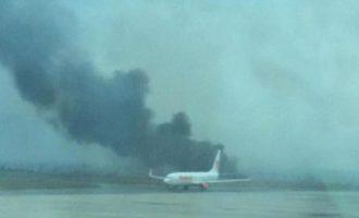 Πολύνεκρο αεροπορικό δυστύχημα στο Κατμαντού την ώρα της προσγείωσης (φωτο+βίντεο)
