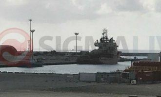 Στο λιμάνι της Λεμεσού το ερευνητικό πλοίο «Ocean Investigator» της ExxonMobil