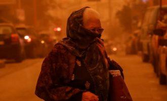 Γιατί η αφρικανική σκόνη θα «πνίξει» την Ελλάδα – Τι αποκαλύπτει έρευνα