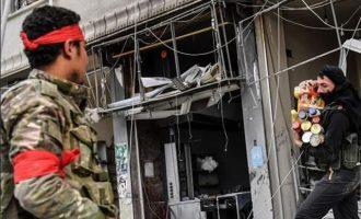 40 μισθοφόροι των Τούρκων σκοτώθηκαν και τραυματίστηκαν ενώ λεηλατούσαν στην Εφρίν