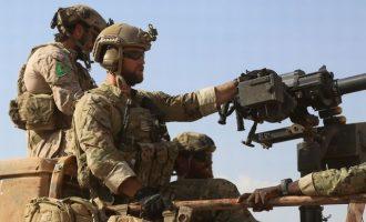 Οι Αμερικανοί κατασκευάζουν μεγάλη βάση κοντά στις πετρελαιοπηγές Ομάρ στην ανατολική Συρία