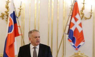 Ο πρόεδρος της Σλοβακίας έκανε δεκτή την παραίτηση του πρωθυπουργού Φίτσο