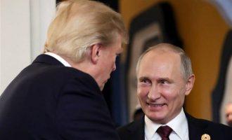 Κρεμλίνο: Δεν μας πειράζει που ο Τραμπ δεν συνεχάρη τον πρόεδρο Πούτιν