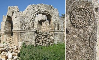 Οι Τούρκοι βομβάρδισαν τον τάφο του Αγίου Μάρωνα στη Συρία – «Οι Μογγόλοι είχαν σεβαστεί το μνημείο»