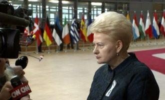 Η Λιθουανία άφησε ανοιχτό το ενδεχόμενο να απελάσει Ρώσους διπλωμάτες