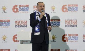 Ο Ερντογάν επιμένει να ζητά από τους Αμερικανούς να του παραδώσουν την πόλη Μανμπίτζ της Συρίας