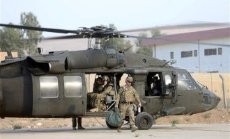 Συνετρίβη αμερικανικό στρατιωτικό αεροσκάφος στο Ιράκ με επτά επιβαίνοντες