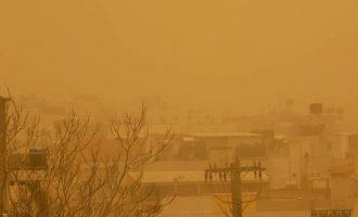 Απίστευτες εικόνες: «Επιστρέφει» η αφρικανική σκόνη στην Κρήτη – Χιόνια στον Ψηλορείτη