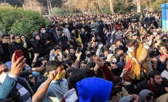 Η έλλειψη νερού στο Ιράν οδηγεί σε διαδηλώσεις