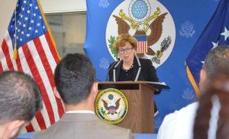 """Η Αμερικανίδα πρέσβης στην Κύπρο δεν προβλέπει τουρκικούς """"μπελάδες"""" στις γεωτρήσεις της Exxonmobil"""