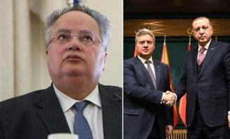Δεν θέλει ούτε να τον δει ο Κοτζιάς τον Σκοπιανό Πρόεδρο Ιβάνοφ – Γιατί ο Έλληνας ΥΠΕΞ τον απομόνωσε