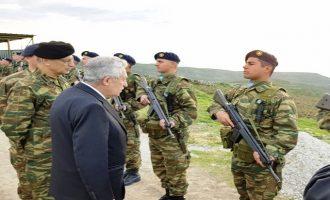 Κουβέλης από Άη Στράτη: Οι στρατιωτικοί μας αποφασισμένοι να προστατεύσουν τη χώρα μας