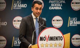 Ιταλία: Υπό διάλυση τα «Πέντε Αστέρια» – Παραιτείται από αρχηγός ο Ντι Μάιο
